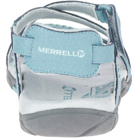 Merrell Sandspur Rose LTR Sandalias Mujer, blue smoke